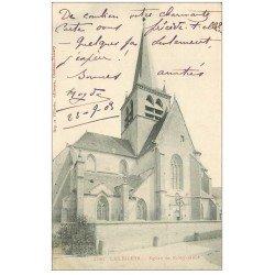 carte postale ancienne 10 LES RICEYS. Eglise de Ricey-Haute-Rive 1903