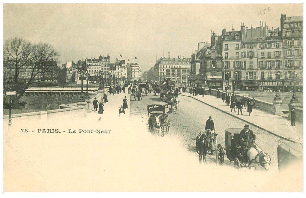 carte postale ancienne PARIS I°. Le Louvre Nouveau