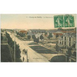 carte postale ancienne 10 MAILLY-LE-CAMP. La Manutention 1913