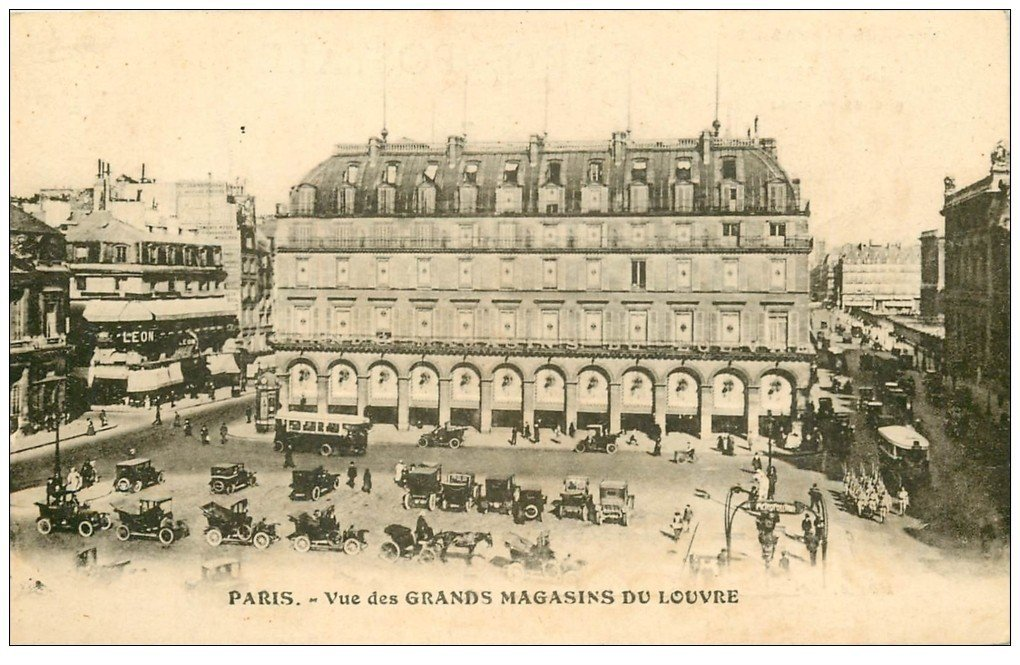 carte postale ancienne PARIS I°. Perspective du Pont Neuf 1905