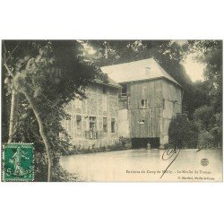 carte postale ancienne 10 MAILLY-LE-CAMP. Le Moulin de Trouan 1910