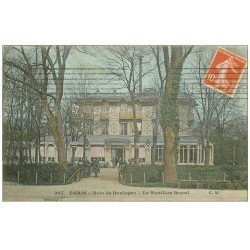 carte postale ancienne PARIS 16. Bois de Boulogne. Le Pavillon Royal Restaurant