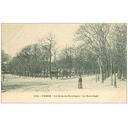 carte postale ancienne PARIS 16. Bois de Boulogne. Le Ranelagh vers 1900