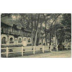 carte postale ancienne PARIS 16. Bois de Boulogne. Les Etables Ferme Pré Catelan 1909