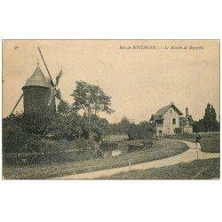 carte postale ancienne PARIS 16. Bois de Boulogne. Moulin de Bagatelle