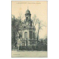 carte postale ancienne PARIS 16. Bois de Boulogne. Pompe Château Bagatelle