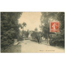 carte postale ancienne 10 MAILLY-LE-CAMP. Un coin du Pays 1911