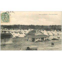 carte postale ancienne 10 MAILLY-LE-CAMP. Vue d'une Cuisine 1906