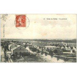 carte postale ancienne 10 MAILLY-LE-CAMP. Vue générale 1912