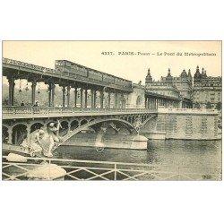 PARIS 16. Pont du Métropolitain