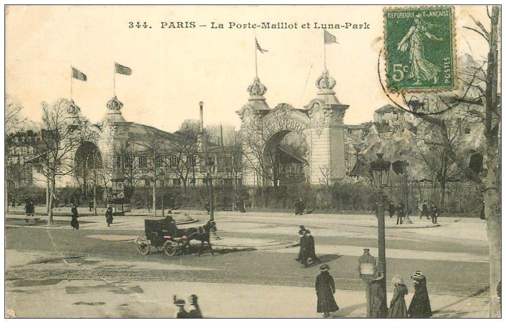 Paris 16 porte maillot et luna park - Parking porte de saint cloud vinci park ...