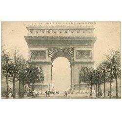 carte postale ancienne PARIS 17. Arc de Triomphe de l'Etoile 66