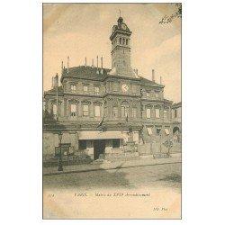 carte postale ancienne PARIS 17. La Mairie