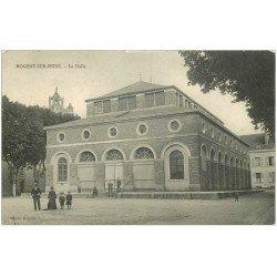carte postale ancienne 10 NOGENT-SUR-SEINE. La Halle 1908