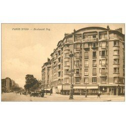 carte postale ancienne PARIS 18. Boulevard Ney Caves Brisson