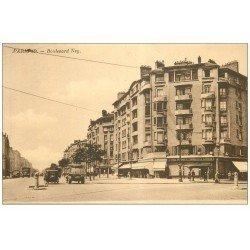 carte postale ancienne PARIS 18. Boulevard Ney Pharmacie Castille