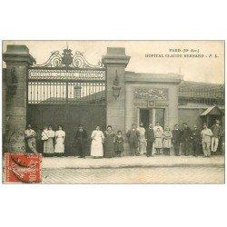 PARIS 19 . Hôpital Hôpitaux. Claude Bernard Avenue Porte Aubervilliers