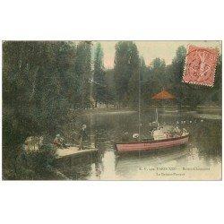 PARIS 19. Buttes Chaumont. Le Bateau Passeur 1907