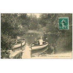 PARIS 19. Buttes Chaumont. Le Bateaux Passeurs 1910