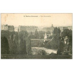PARIS 19. Buttes Chaumont. Vue d'ensemble 1909