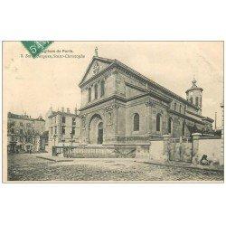 PARIS 19. Eglise Saint-Jacques Saint-Christophe 1908