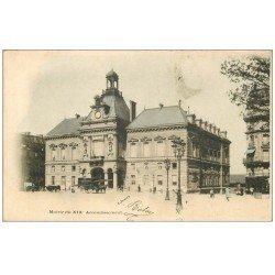PARIS 19. La Mairie vers 1900