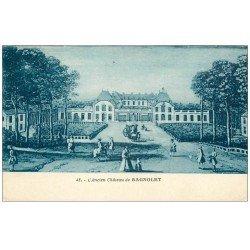 carte postale ancienne PARIS 20. Ancien Château de Bagnolet 1935 aujourd'hui détruit...