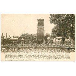 """carte postale ancienne PARIS 20. Cimetière Père Lachaise. Monument Victimes de Juin 1848 """""""" MAGGI """""""""""