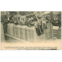 carte postale ancienne PARIS 20. Cimetière Père Lachaise. Tombeau Blanqui
