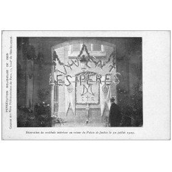 carte postale ancienne PARIS 20. Couvent des Pères Rédemptoristes 55 Boulevard de Ménilmontant