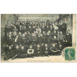 carte postale ancienne PARIS 20. Patronage Saint-Jean de Ménilmontant 1910