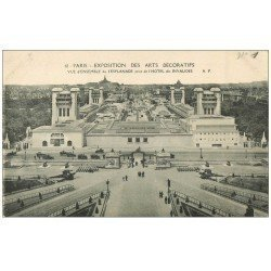 carte postale ancienne PARIS EXPOSITION DES ARTS DECORATIFS 1925. Esplanade 61