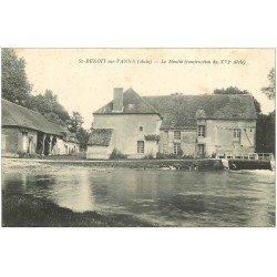carte postale ancienne 10 SAINT-BENOIT-SUR-VANNE. Le Moulin