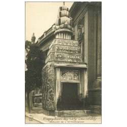 carte postale ancienne PARIS EXPOSITION DES ARTS DECORATIFS 1925. Pavillon Intransigeant