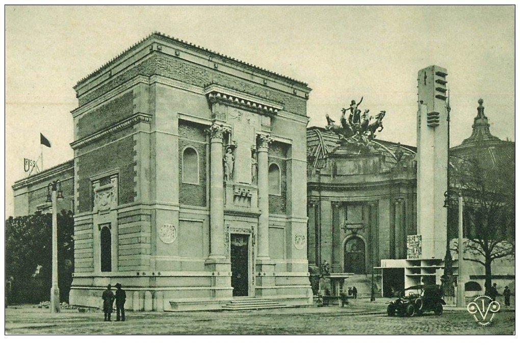 PARIS EXPOSITION DES ARTS DECORATIFS 1925. Pavillon Italie et Tourisme
