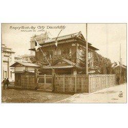 carte postale ancienne PARIS EXPOSITION DES ARTS DECORATIFS 1925. Pavillon Japon