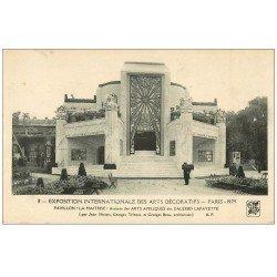 PARIS EXPOSITION DES ARTS DECORATIFS 1925. Pavillon La Maitrise