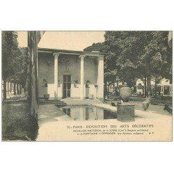 carte postale ancienne PARIS EXPOSITION DES ARTS DECORATIFS 1925. Pavillon Suède