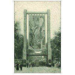 carte postale ancienne PARIS EXPOSITION DES ARTS DECORATIFS 1925. Porte Orsay 24