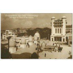 carte postale ancienne PARIS EXPOSITION DES ARTS DECORATIFS 1925. Tour Bourgogne