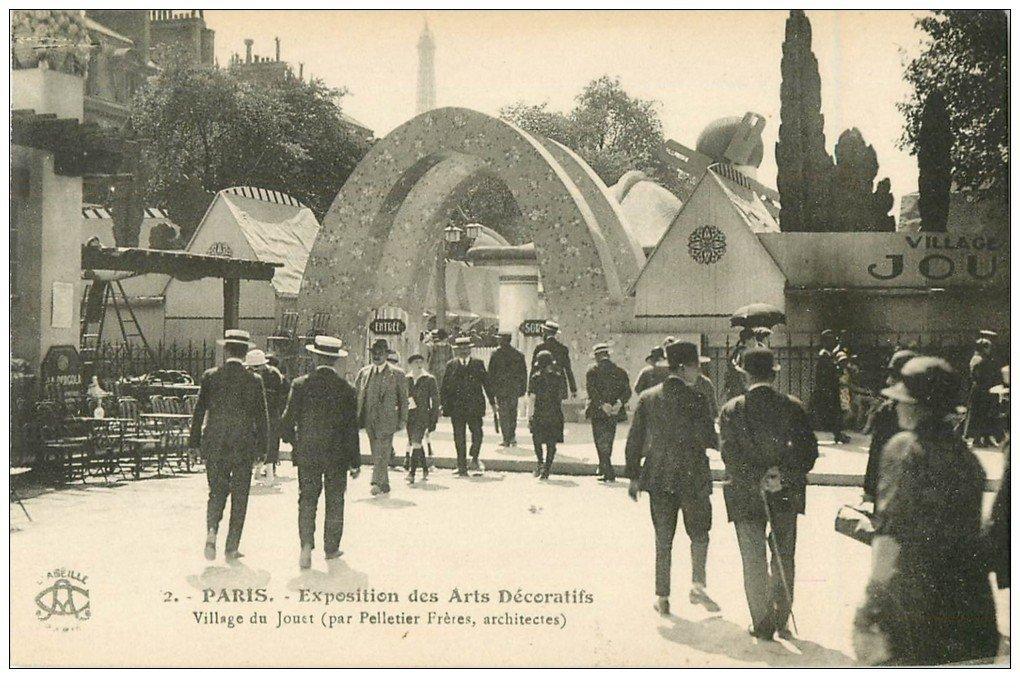 PARIS EXPOSITION DES ARTS DECORATIFS 1925. Village du Jouet