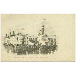 carte postale ancienne PARIS EXPOSITION UNIVERSELLE 1900. L'Algérie.