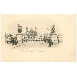 carte postale ancienne PARIS EXPOSITION UNIVERSELLE 1900. Le Trocadéro