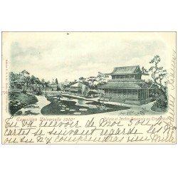 PARIS EXPOSITION UNIVERSELLE 1900. Palais Japonais. Timbre 10 centimes 1900