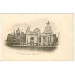 PARIS EXPOSITION UNIVERSELLE 1900. Pavillons Italie, Turquie et Etats-Unis