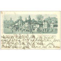 PARIS EXPOSITION UNIVERSELLE 1900. Section Algérienne. Timbre 10 centimes 1900