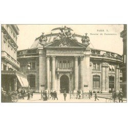 carte postale ancienne PARIS I°. Bourse de Commerce