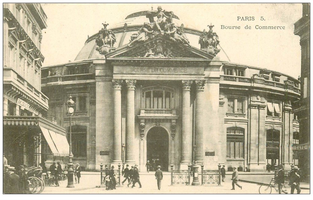 PARIS 01. Bourse de Commerce