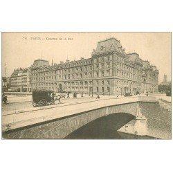 PARIS 01. Caserne de la Cité vers 1900