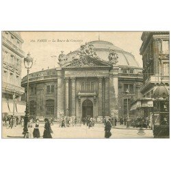 carte postale ancienne PARIS I°. La Bourse du Commerce 1919.